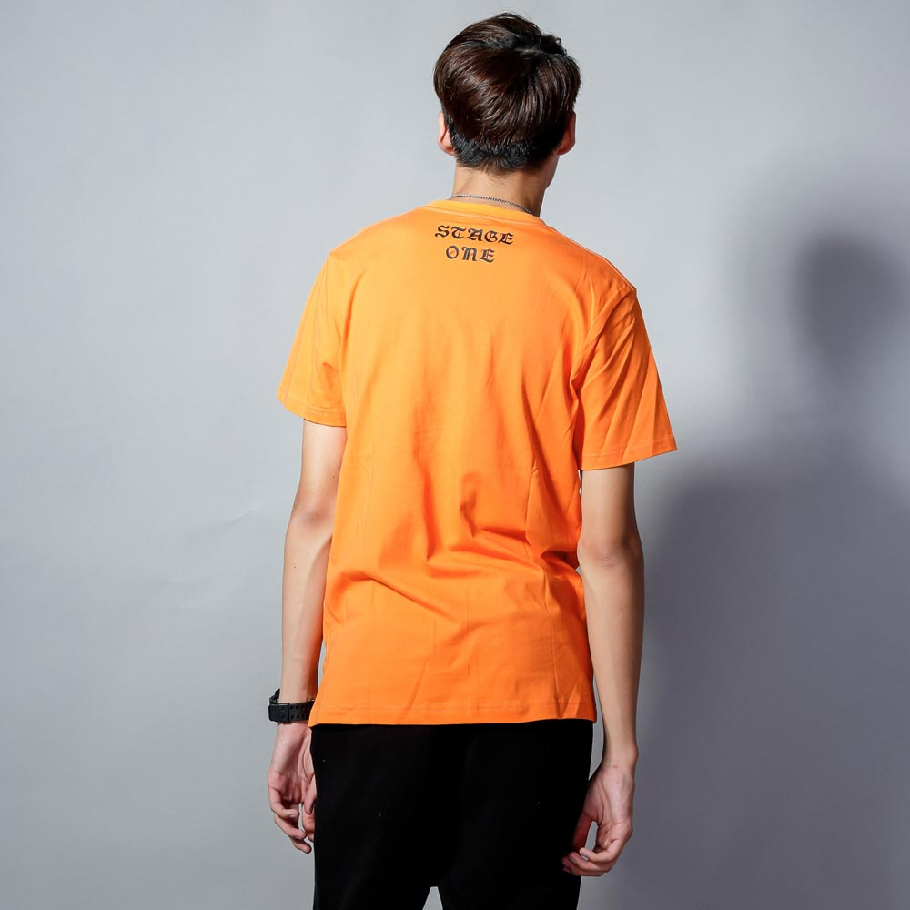 STAGEONE ONE SOUL TEE 黑色 / 橘色 兩色 3
