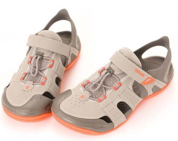(陽光樂活)- TEVA Barracuda Sport  護趾運動涼鞋 細雨灰 TV1003988DRIZ