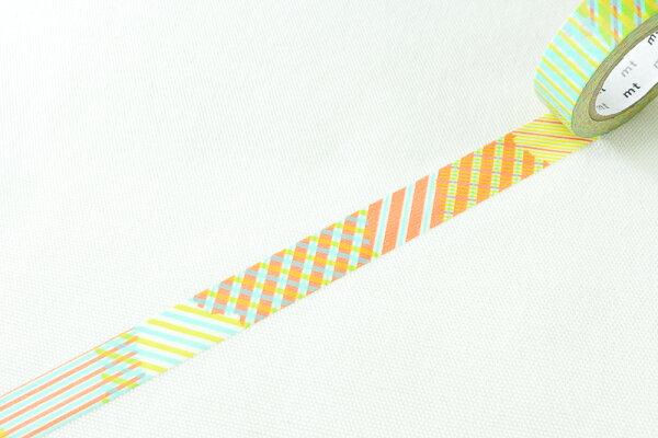 *小徑文化*日本和紙膠帶 mt_DECO - 格紋OR ( MT01D119 )