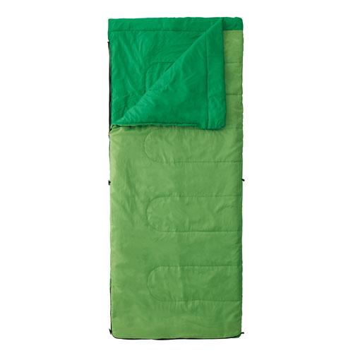 【露營趣】中和 附手電筒 Coleman cm-27260 表演者II萊姆綠睡袋/C15 信封型睡袋 化纖睡袋 纖維睡袋 可全開併接