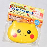 Pokemon:精靈寶可夢到皮卡丘 精靈寶可夢GO 濕紙巾抽 上蓋 日本帶回正版