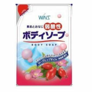 日本製WINS玫瑰果油沐浴乳補充包400ML