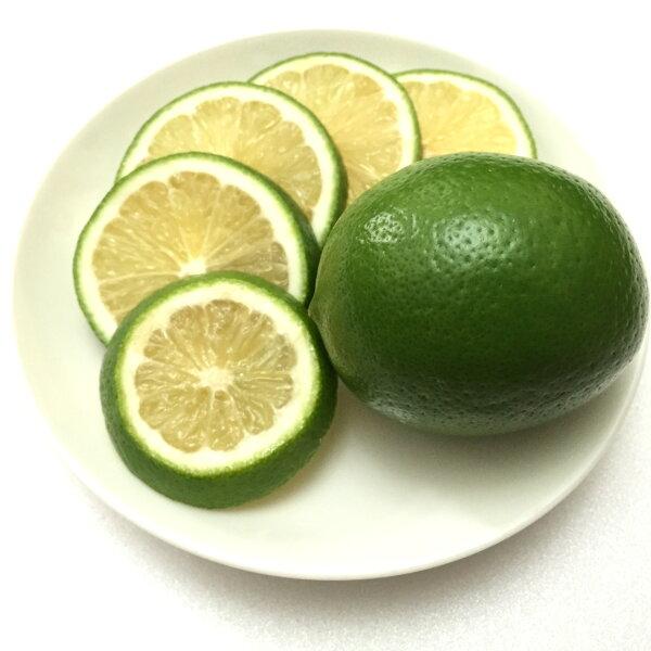 秋冬檸檬【無毒栽種】品質超優/少苦味/不酸澀/生飲最佳選擇--1斤