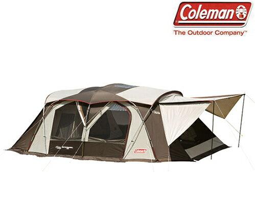 Coleman 氣候達人2-ROOM COCOON II 一房一廳帳/別墅帳/露營帳篷 CM-22110M000