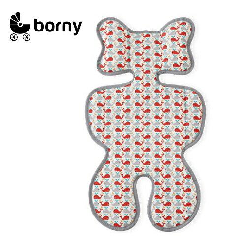 韓國【 Borny 】3D 立體推車涼墊(推車、汽座適用)  (小海豚) - 限時優惠好康折扣