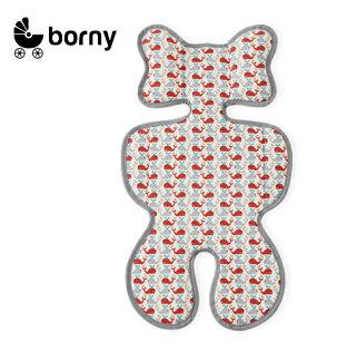 韓國【 Borny 】3D 立體推車涼墊(推車、汽座適用)  (小海豚)
