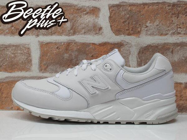 BEETLE NEW BALANCE ML999AW 999 WHITE OUT 全白 皮革 復古 慢跑鞋 2