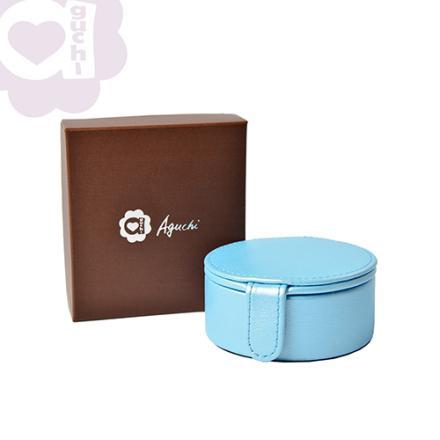 【Aguchi 亞古奇】法式馬卡龍-晴空藍 珠寶盒(玩美精靈系列) 2