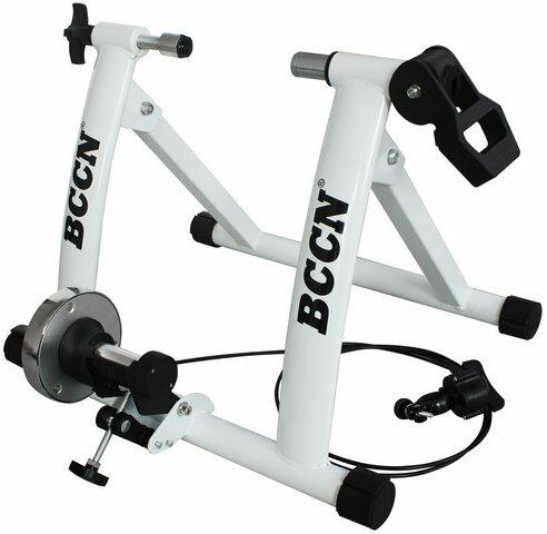 七段式線控培林磁阻單車用線控訓練台 白色《意生自行車》