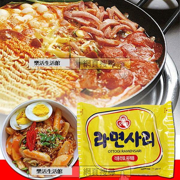 韓國 不倒翁 OTTOGI Q拉麵 純麵條 泡麵