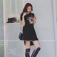 時尚洋裝 小禮服推薦到【促銷】約會私服 冬日裡的針織小洋裝 提升氣質迅速能幫你增加好感   黑色/ 杏色-Lucky洋M
