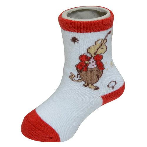 『121婦嬰用品館』狐狸村 高爾夫短筒襪 (7-9cm)