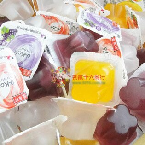 【0216零食會社】盛香珍-綜合零卡果凍