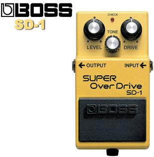 【非凡樂器】BOSS Super diver 超級破音失真效果器 SD-1 SD1/贈導線