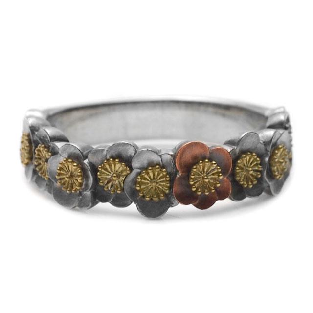 【海外訂購】【GLENN】梅花環純銀戒指(GL-0081) 2