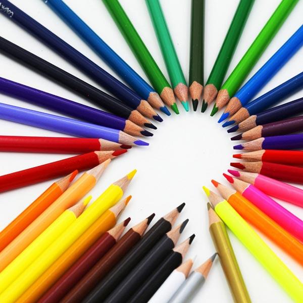 PS Mall 水彩色鉛筆 水性色鉛筆 36色【J1129】