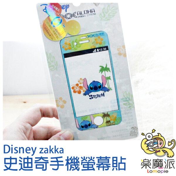『樂魔派』迪士尼史迪奇 手機貼 螢幕貼 保護貼 透明貼紙 貼紙  適用IPHONE4 / IPHONE4S裝飾