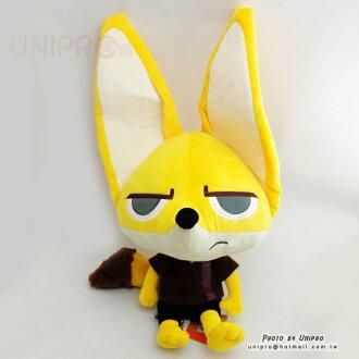 【UNIPRO】迪士尼 動物方城市 Zootopia 芬 尼克 Finnick Q版 小狐狸 耳廓狐 玩偶 50公分 絨毛娃娃