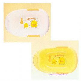 ★衛立兒生活館★黃色小鴨雙色豪華型沐浴盆