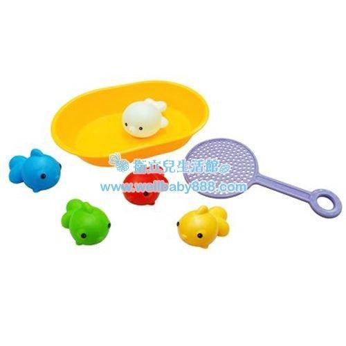 ★衛立兒生活館★Toyroyal樂雅 洗澡玩具/快樂撈魚組 TF7196