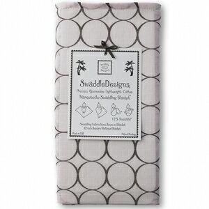 美國【Swaddle Designs】薄棉羅紗多用途嬰兒包巾 (圈粉) - 限時優惠好康折扣