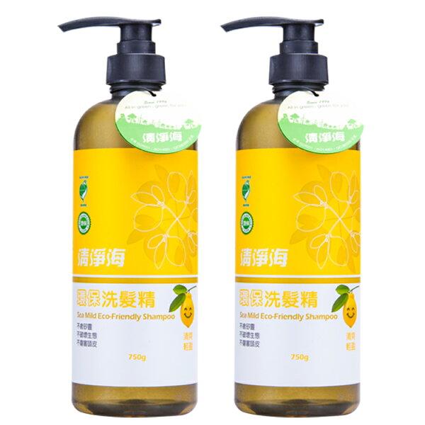 (2入) 清淨海 環保洗髮精750g