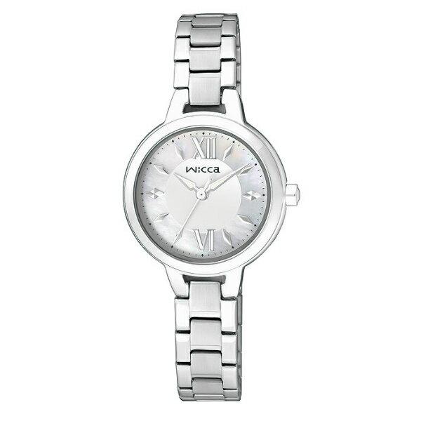 CITIZEN星辰WICCA(BG3-716-11)清新典雅時尚腕錶/白面26mm