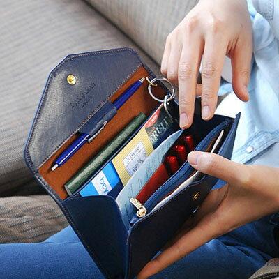 滿999最高折$220[序號 ShoppingFestival-3] 素色多功能信封式長夾/護照包/零錢包( 5色)【BA-8018】LYNNSHOP