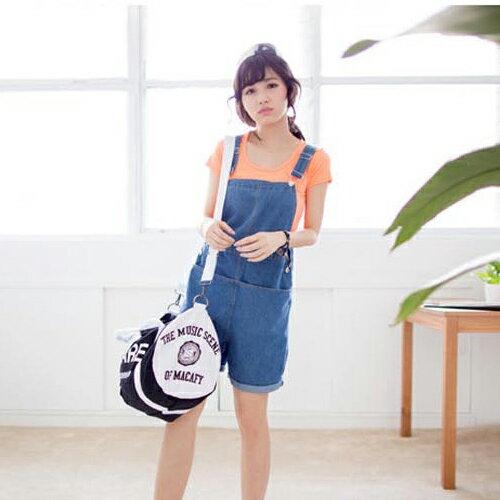 短袖T恤-短袖百搭純色圓領羅紋T恤【23007】藍色巴黎《18色》現貨商品 2
