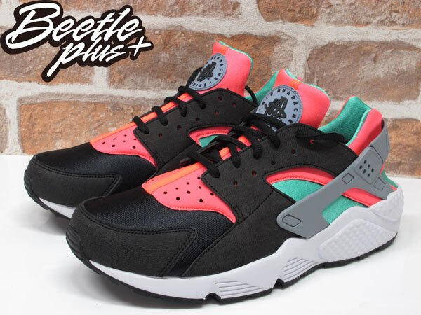 BEETLE PLUS NIKE WMNS AIR HUARACHE RUN 黑粉 蒂芬妮綠 忍者鞋 武士 634835-003 1