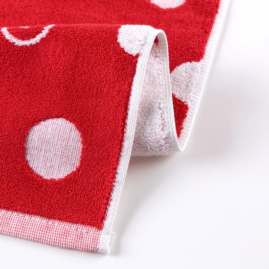 好友點點!紅色款/窄版運動巾 1