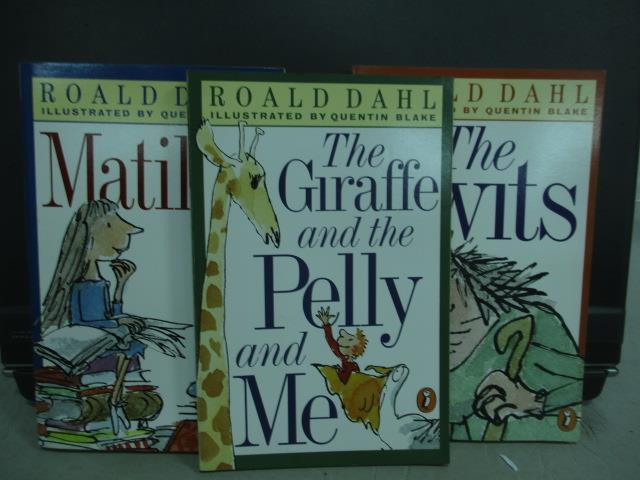 ~書寶 書T1/語言學習_MQN~Roald dahl~Matilda_The twits