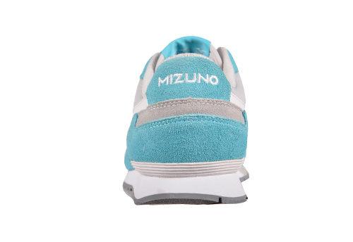 MIZUNO美津濃 復古系列 女休閒款慢跑鞋 藍白 3