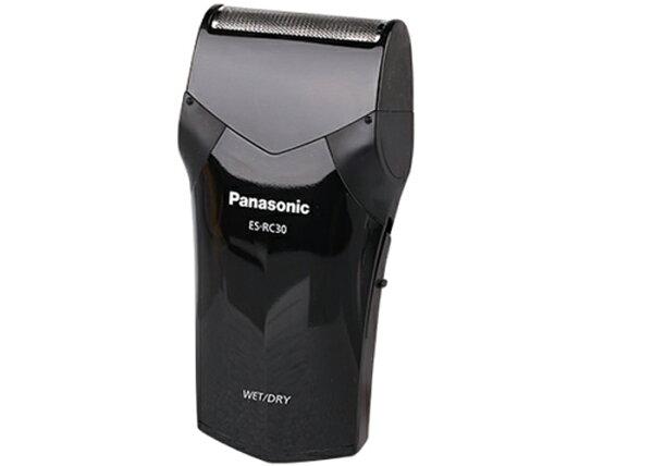 Panasonic 國際牌 單刀水洗旅行用電鬍刀 ES-RC30 / 時尚設計,舒適握感