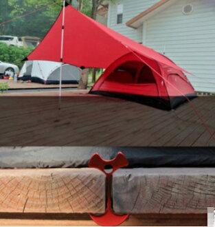 棧板神器 木板 魚骨釘 魚骨地釘 營釘 露營 營繩 適棧板 天幕 帳篷  客廳帳