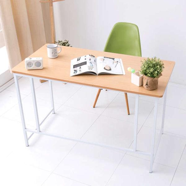 桌子 北歐風 書桌【DE-035N】無印風極致美學工作桌(原木色) 書桌/工作桌/電腦桌/電腦椅/台灣製造