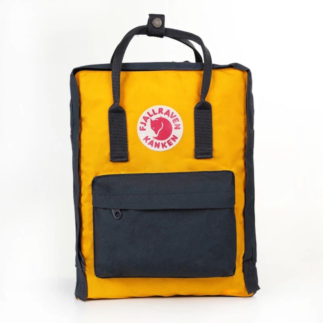 OUTLET代購 瑞典 FJALLRAVEN KANKEN Classic 560-141 藍/黃 狐狸包 後背包 書包 1
