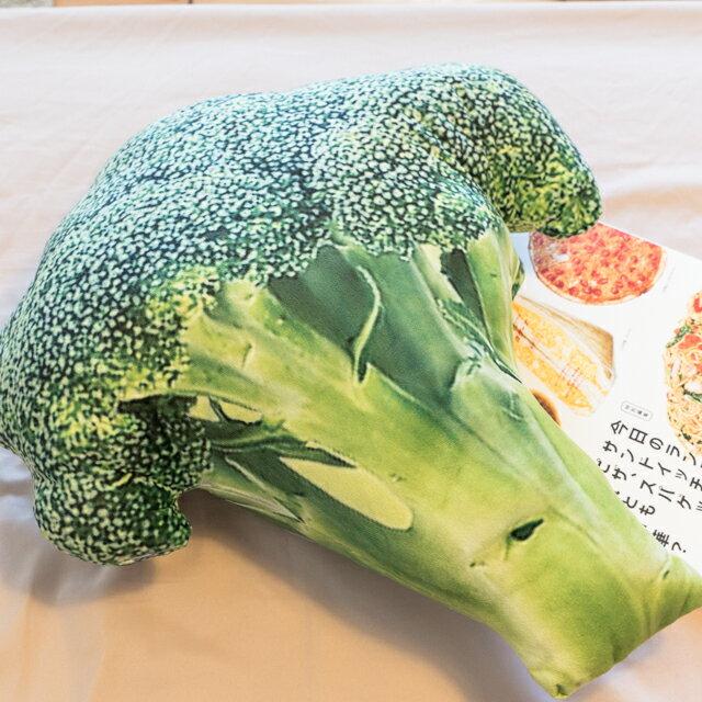日雜風格 花椰菜抱枕 花色獨特 觸感扎實 1