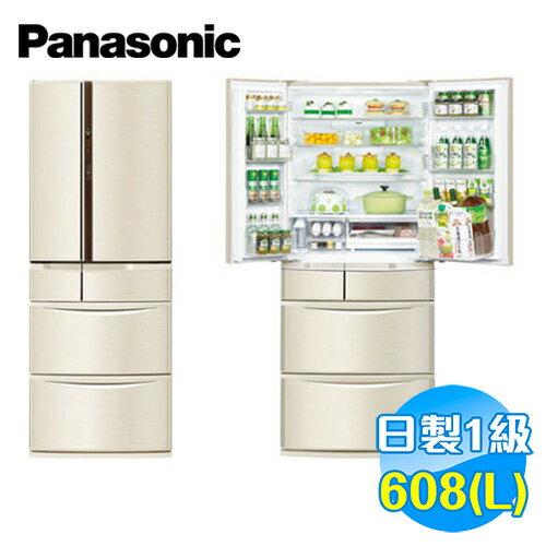 國際 Panasonic 608公升 旗艦ECONAVI六門變頻冰箱 NR-F610VT