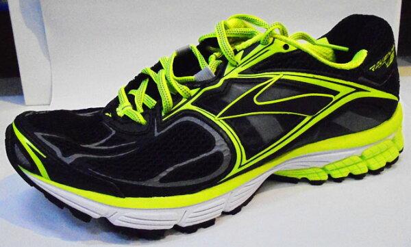 [陽光樂活] BROOKS  Ravenna 5 輕量X慢跑鞋 黑X螢光綠 (男)    BK1101561D707