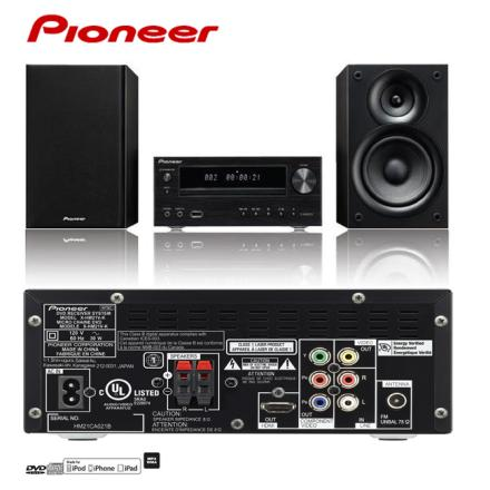 X-HM21V-K Pioneer先鋒 iPhone/DVD/CD床頭音響組 零利率 熱線:07-7428010