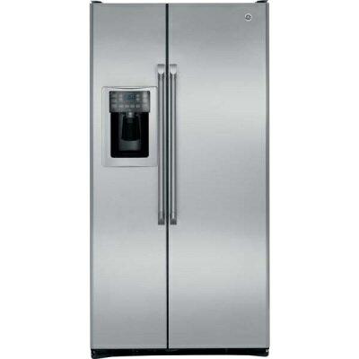 【零利率】美國奇異 CZS25TSSS 對開門冰箱 深度(69公分)與舊款(PSCF5RGWW)同 ※熱線07-7428010