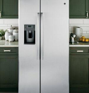 美國GE奇異GSE25HSSS 對開門冰箱(733L)【零利率】※熱線07-7428010