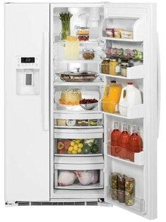 GE 奇異 皇室對開門薄型冰箱 PZS23KGWW 純白亮面700L 深度69公分【零利率】 ※熱線07-7428010