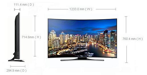 SAMSUNG 三星UA55HU7200/ UA55HU7200W 55吋 4KUHD Smart液晶電視【零利率】※熱線07-7428010
