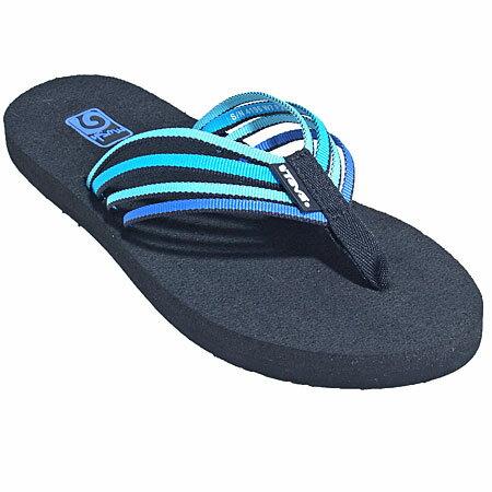 (陽光樂活) TEVA 女款織帶拖鞋(杜邦記憶鞋床) TV4196ELBM