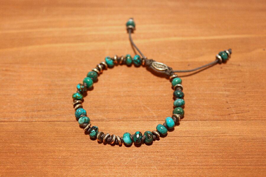 【現貨商品】【M.Cohen】英國聖殿綠松石手環 (MC-B-103533-SLV-TR 0976970200) 0