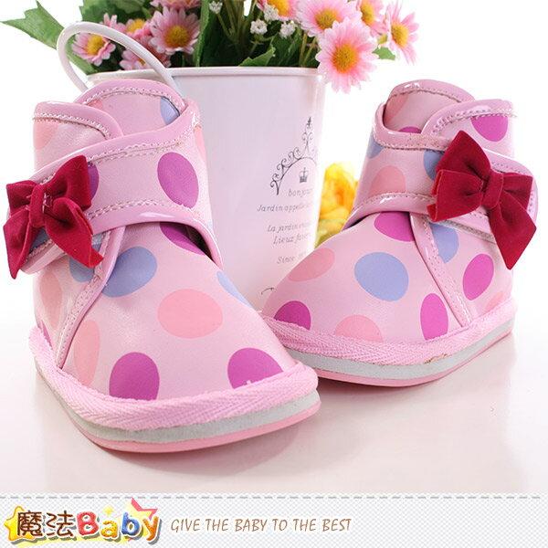 女童鞋 秋冬外短雪靴 魔法Baby~sh9524
