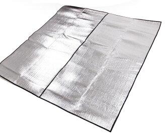 【露營趣】中和 TNR-136 275x275 帳篷270/280適用 雙面鋁箔墊 鋁箔墊 防潮墊 露營墊 野餐墊 地墊 睡墊