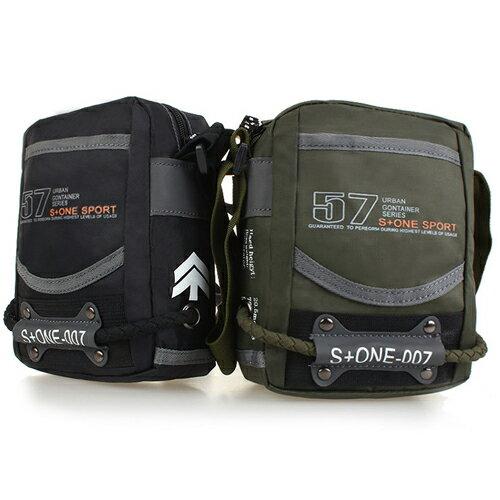 斜背包-美式風格數字軍旅斜背包 手機小包 包飾衣院 J1071 現貨